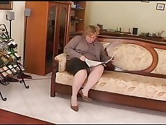 chubby mature play exceeding divan