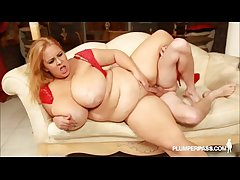 Sexy Fat Get hitched Minnie Mayhem Teases and Fucks Stud Tony