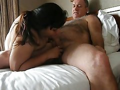 Hairy Mature Person BJ