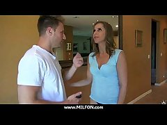 Gung-ho chunky knocker hot milf nails a stud 29