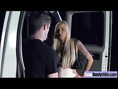 (nina elle) Obese Melon Round Tits Wife Less Hardcore Sex Scene video-24
