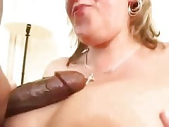 Big tit mature tie the knot loves black cock