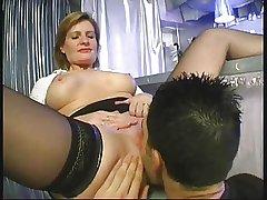 Mature Woman Teaching Young Boy...F70