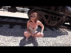 Reconcile Stripper MILF fucks greater than accustom tracks