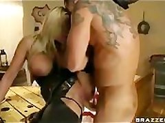 BIG Boob BLONDE PORNSTAR ALANAH RAE Benediction HUNTER FUCKED COWGIRL