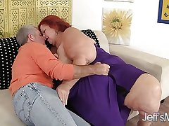 Redhead Mature Sweet Cheeks hardcore mating