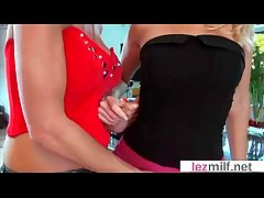 Lesbian Mature Ladies Strive Fun Fatiguing Get Orgasms video-09