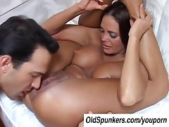 Despondent MILF Cheyenne Hunter is a hot fuck