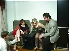 Grown up Russian Swingers - Untrained sex video