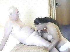 Indian Girl having lovemaking with mature man