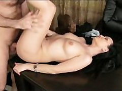 FakeAgent Of age brunette takes anal anent casting
