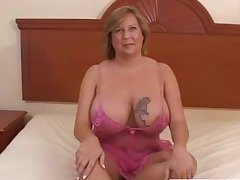 BBW Mature Slut and Big Disgraceful Guys