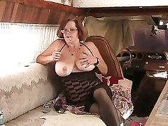 Unaccompanied #4 (Mature Redhead with Fat Boobs)