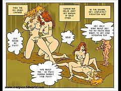 2D Comic: Simmering Myth