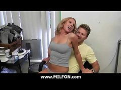 Amazing milf getting fucked by hunter 23