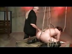 Shibari Rope Subjugation With an increment of Scourging