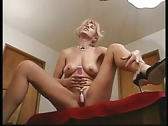 Blonde mature fuck man