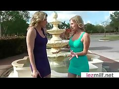 Milfs Lesbians (Brianna Radiate & Cory Chase) In Hot X-rated Lez Act out Scene movie-04