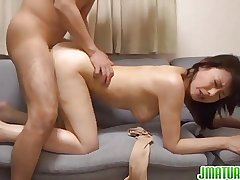 Adult chick Eriko likes deep penetration