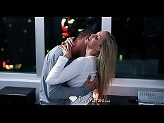 HD - PureMature - Julia Ann gets her pendulous Bristols slapped around