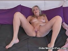 Canadian milf Velvet Skye needs connected with rub twosome out