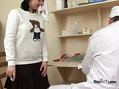 Whore Uses Her Brashness To Please Deviant Doctor