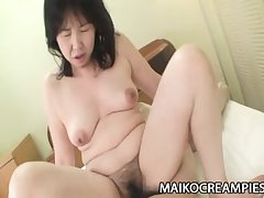 Sumie Nagai - Bushwa Addicted JAV Mature Riding A Young Person