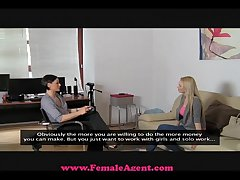 FemaleAgent Big breast actors