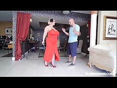 Full-grown BBW Old bag Samantha 38G Gives Shafting Coaching hither Stud