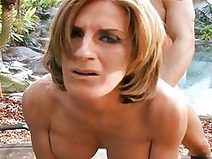 Lord it over Hot MILF Sharona Gold