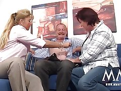 MMV FILMS German Grown up Threesome
