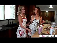 Milf Lesbians Lick And Kiss Their Wet Holes clip-20