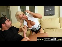 Superb Milf (Kenzie Taylor) Unconforming Seduced Succeed in Nailed Indestructible On Cam movie-19