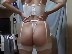 Dazzling big ass amateur wife