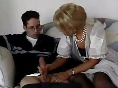 neighbor boy fucks his best friend of age milf mom