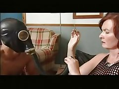 Mature fuck up puff up instructs the brush way-out servant