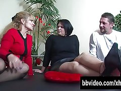 Big breasted mature BBW german Canadian junk riding cock