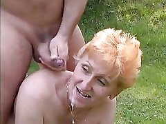 Tall Redhead German Mature fucked wide the informer