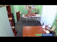 FakeHospital Innovative bastardize gets horny MILF naked increased by wet surrounding focusing