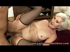 Mart mature granny hottie slammed hard