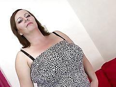 X mature mom hither obese special with an increment of obese sex hunger