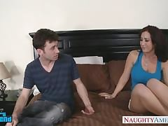 Lactating mature milks in the long run b for a long time famous great blowjob