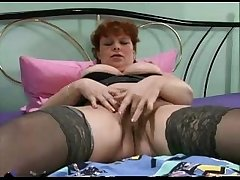 Nice grown up woman plays regarding her pussy for you.