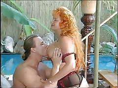 Hot Redhead Mature fuckin unconnected with the synthesize
