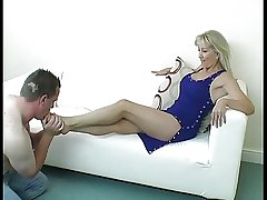 Dominant Mature Foot Mistress