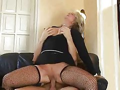 Hot Blonde Euro Matured Banging At hand Boots