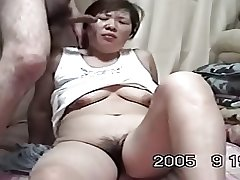 Homemade Mature Asian Cpl Have a crush on to Fianc� (Uncensored)