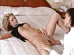 Mature call lesbian trollop around rub-down the B & B area 2 of 4