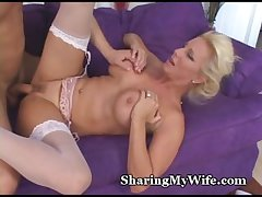 Mature Spouse Invites Young Radiate To Fuck