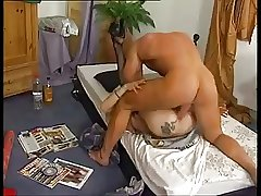 German blonde mature anal